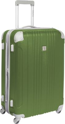 """Image of Beverly Hills Country Club Newport 28"""" Hardside Spinner Green - Beverly Hills Country Club Hardside Luggage"""