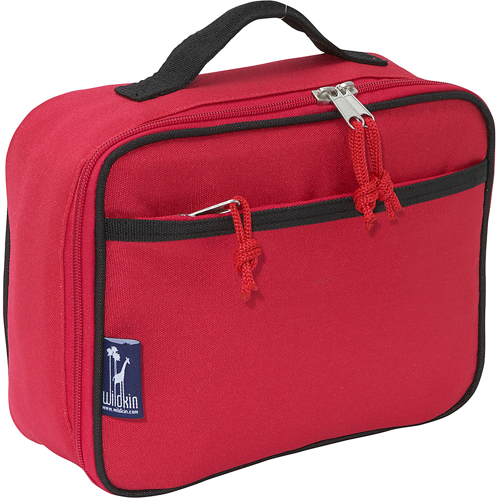 Wildkin Straight-Up Red Lunch Box - Straight-Up Red - Travel Accessories, Travel Coolers