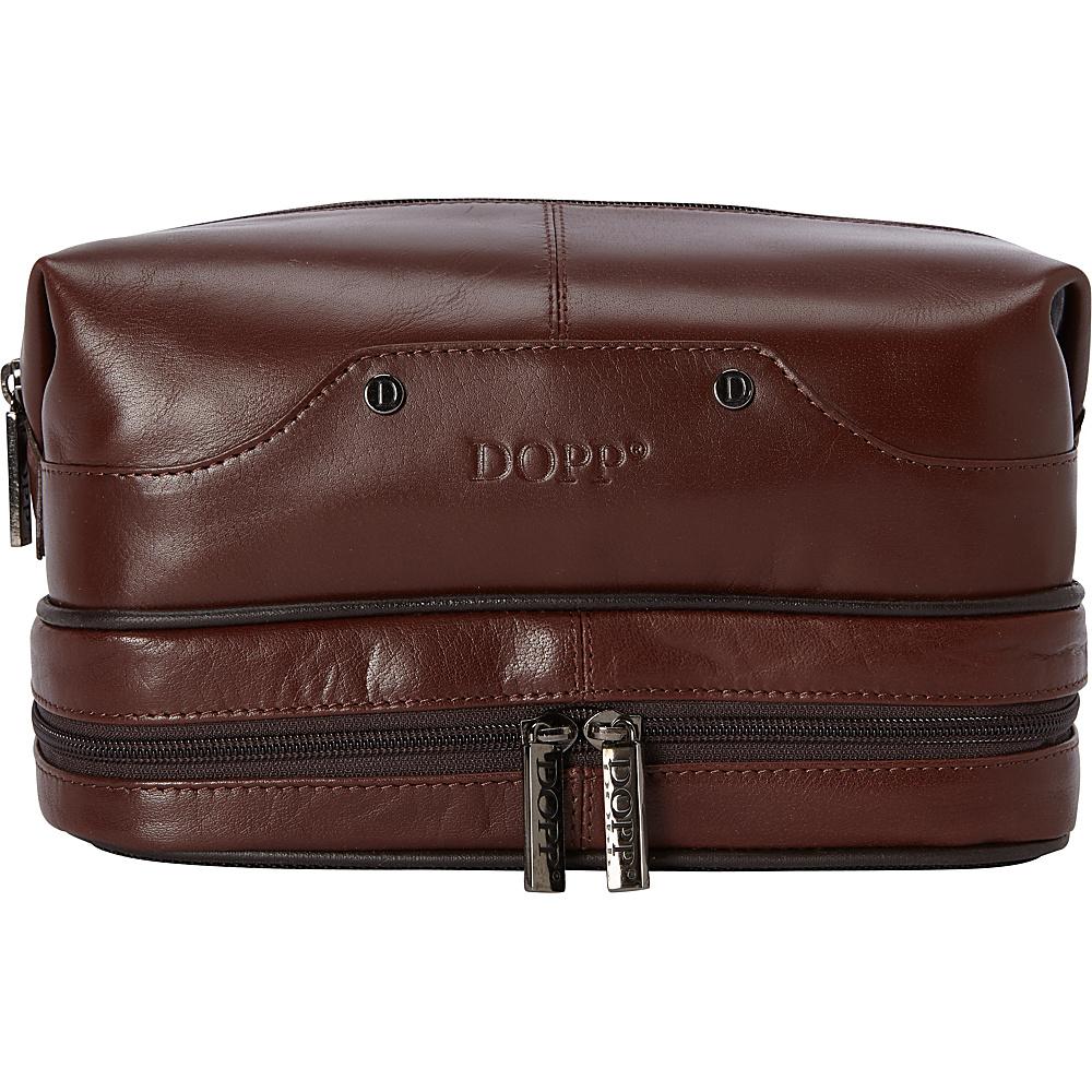Dopp Veneto Travel Kit W/Bonus Items Brown - Dopp Toiletry Kits - Travel Accessories, Toiletry Kits