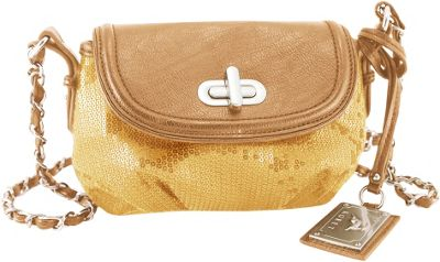 Koret Handbags Shimmer And Shine 1/2 Flap