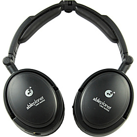 Traveler's Choice Foldable Active Noise Canceling Headphones Black