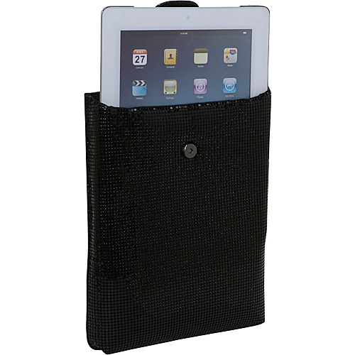Whiting and Davis iPad Case - Black