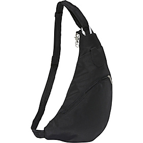 Anti-Theft Sling Bag Black