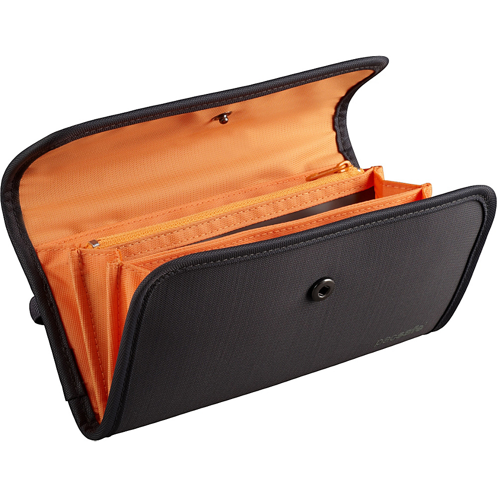 Pacsafe RFID-tec 250 RFID-Blocking Women's Wallet Shadow - Pacsafe Travel Wallets