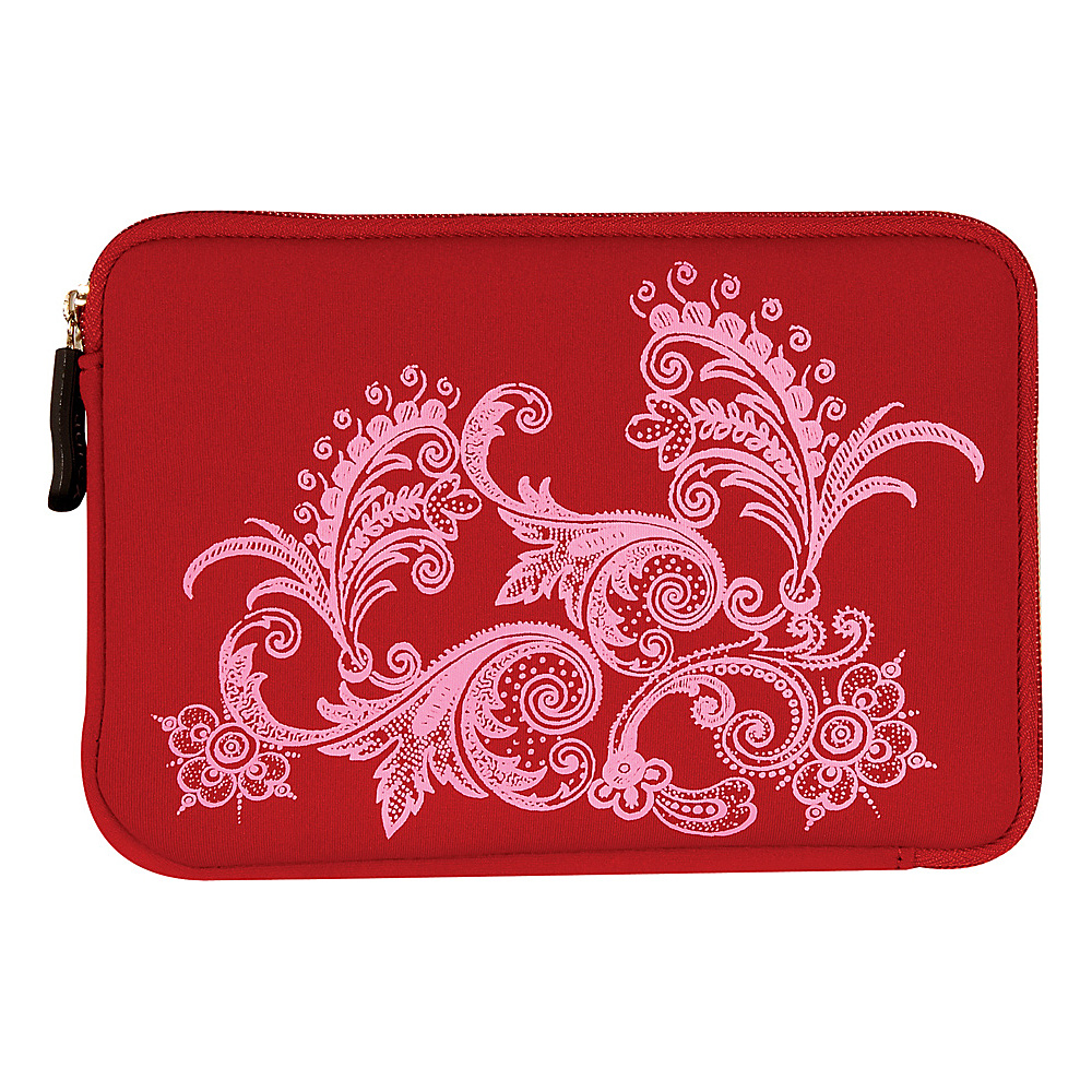 Laurex E book Reader Sleeve for Kindle Fire Red Amoeba Laurex Electronic Cases