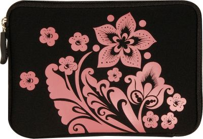 Laurex E-book Reader Sleeve for Kindle Fire Black Flower - Laurex Electronic Cases
