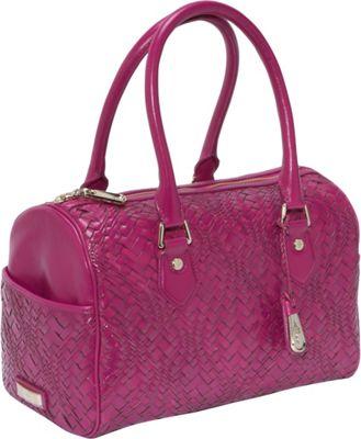 Cole Haan Optical Weave Jade Bag