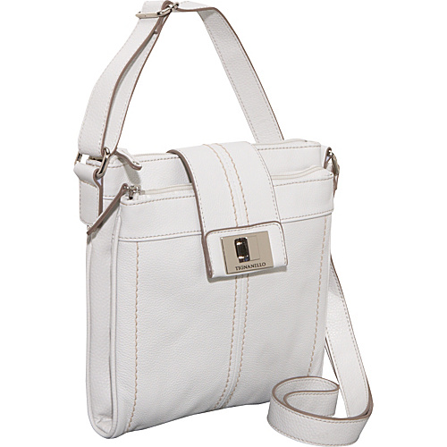 Tignanello Fab Function Pebble Leather N/S Crossbody -