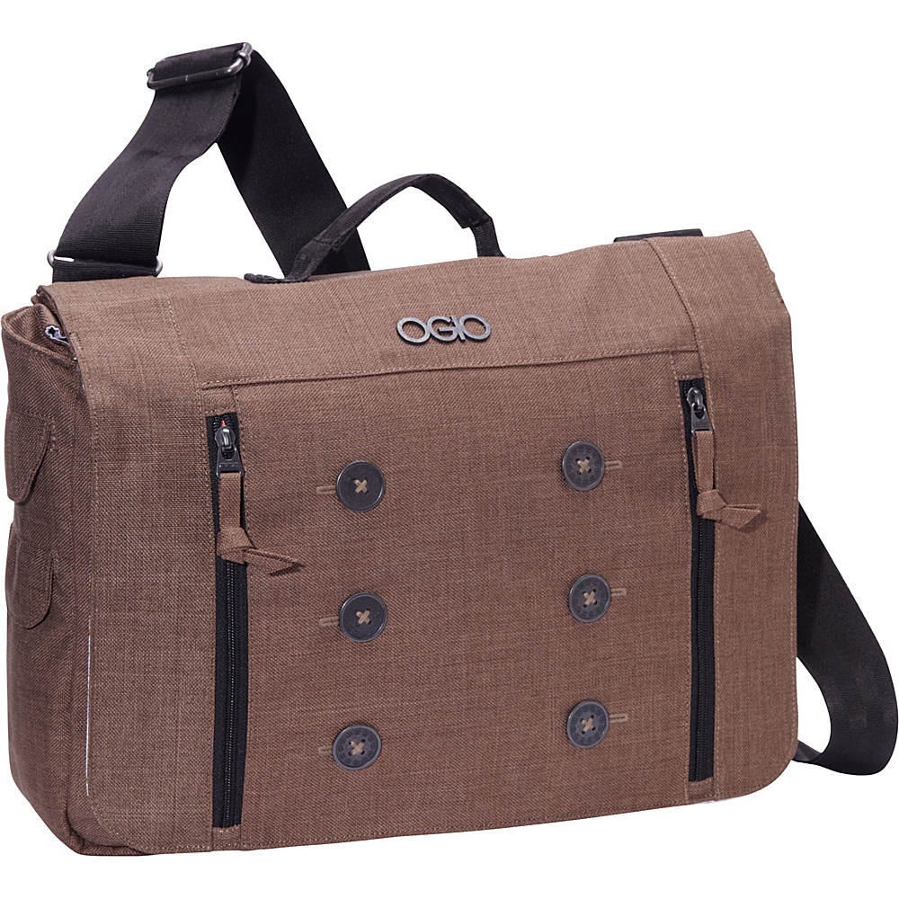OGIO MidTown Messenger Brown - OGIO Messenger Bags - Work Bags & Briefcases, Messenger Bags