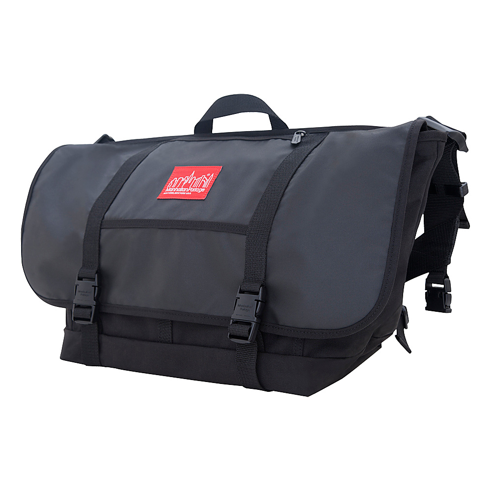 Manhattan Portage NY Minute Messenger Bag (LG) Black - Manhattan Portage Messenger Bags - Work Bags & Briefcases, Messenger Bags