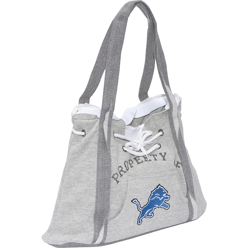 Littlearth NFL Hoodie Purse Grey Detroit Lions - Littlearth Fabric Handbags - Handbags, Fabric Handbags