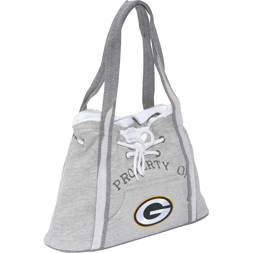 Littlearth NFL Hoodie Purse Grey Green Bay Packers - Littlearth Fabric Handbags