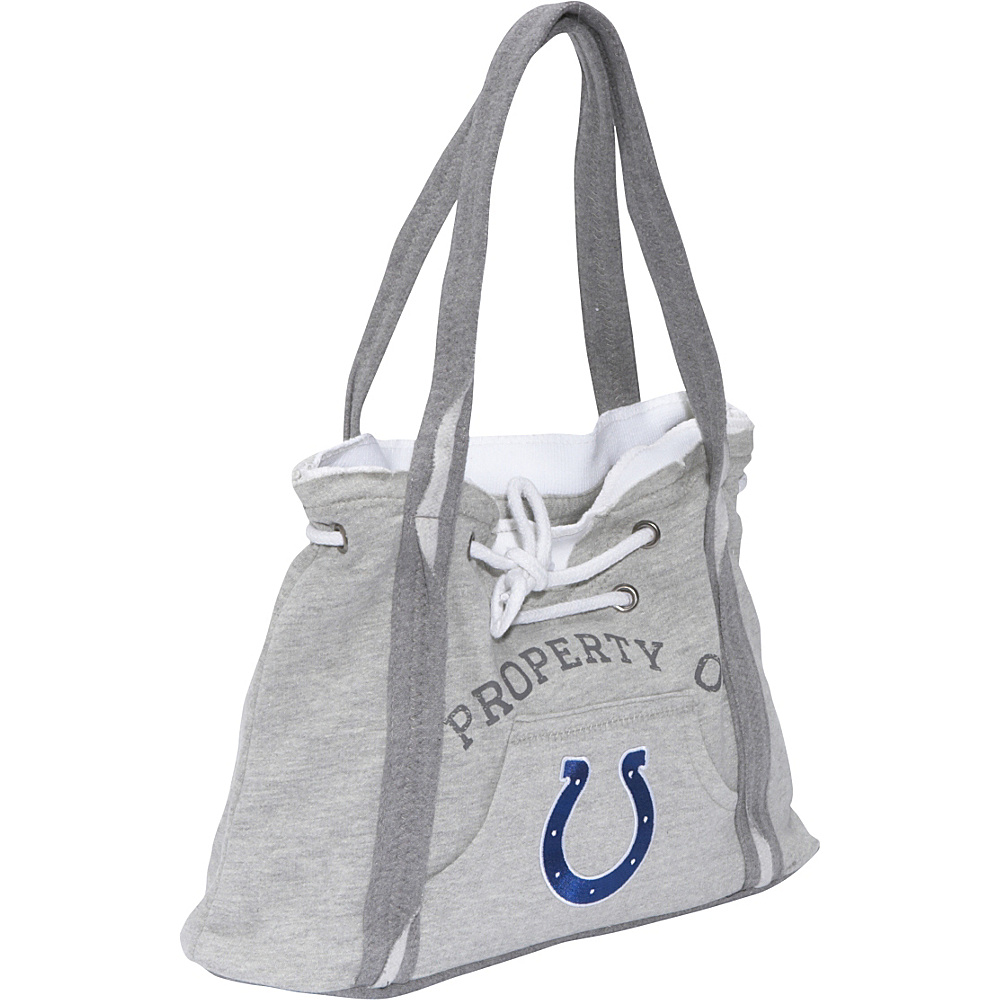 Littlearth NFL Hoodie Purse Grey Indianapolis Colts - Littlearth Fabric Handbags - Handbags, Fabric Handbags