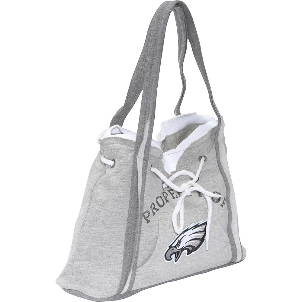 Littlearth NFL Hoodie Purse Grey Philadelphia Eagles - Littlearth Fabric Handbags - Handbags, Fabric Handbags