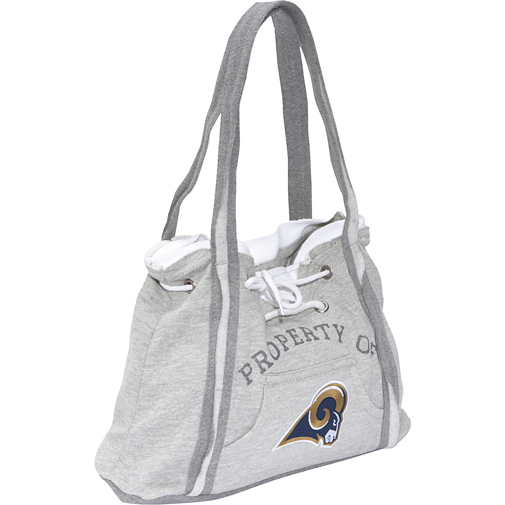 Littlearth NFL Hoodie Purse Grey St. Louis Rams - Littlearth Fabric Handbags - Handbags, Fabric Handbags