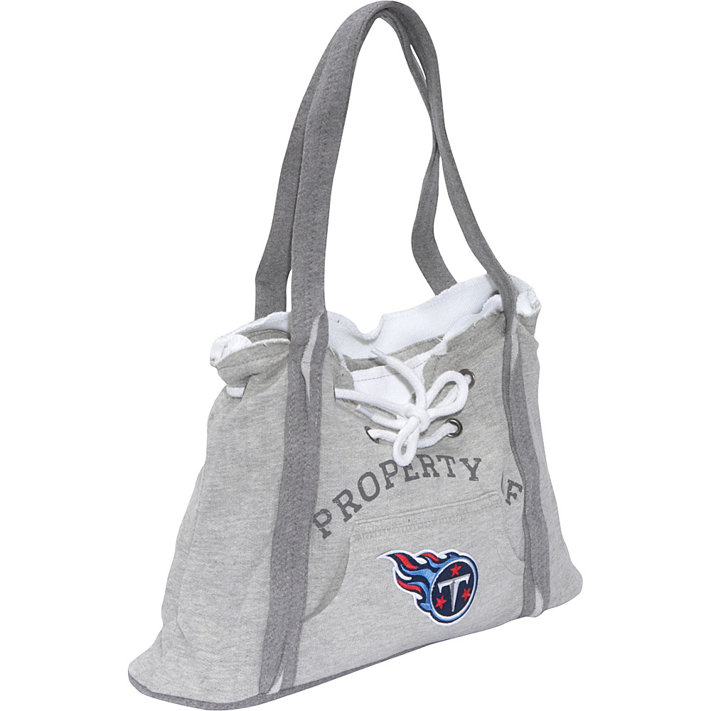 Littlearth NFL Hoodie Purse Grey Tennessee Titans - Littlearth Fabric Handbags - Handbags, Fabric Handbags