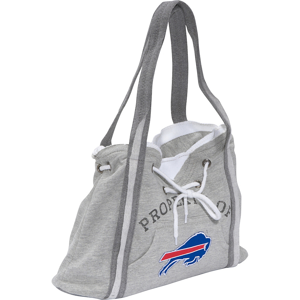 Littlearth NFL Hoodie Purse Grey Buffalo Bills - Littlearth Fabric Handbags