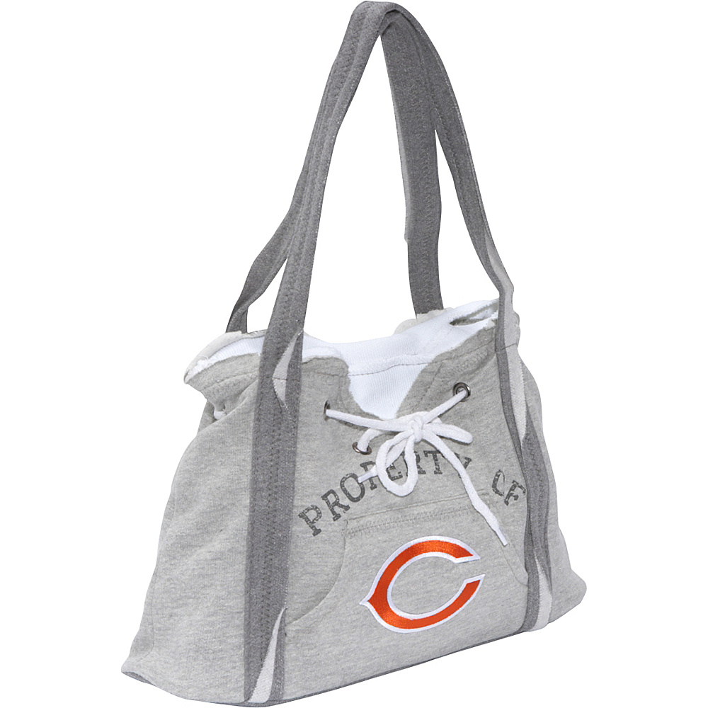 Littlearth NFL Hoodie Purse Grey Chicago Bears - Littlearth Fabric Handbags - Handbags, Fabric Handbags