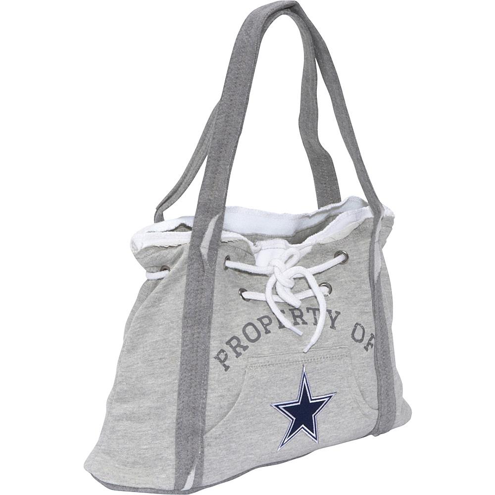 Littlearth NFL Hoodie Purse Grey Dallas Cowboys - Littlearth Fabric Handbags - Handbags, Fabric Handbags