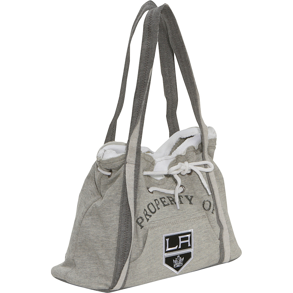 Littlearth NHL Hoodie Purse Grey/Los Angeles Kings Los Angeles Kings - Littlearth Fabric Handbags - Handbags, Fabric Handbags