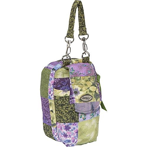 Donna Sharp Cell Phone Purse, Grape Patch - Cross Body