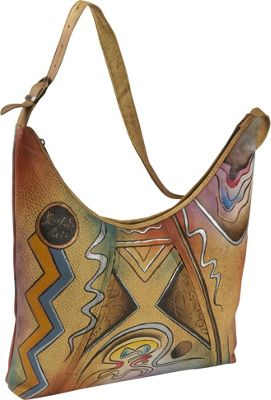 Image of ANNA by Anuschka ANNA by Anuschka U-Top Tote - Abstract