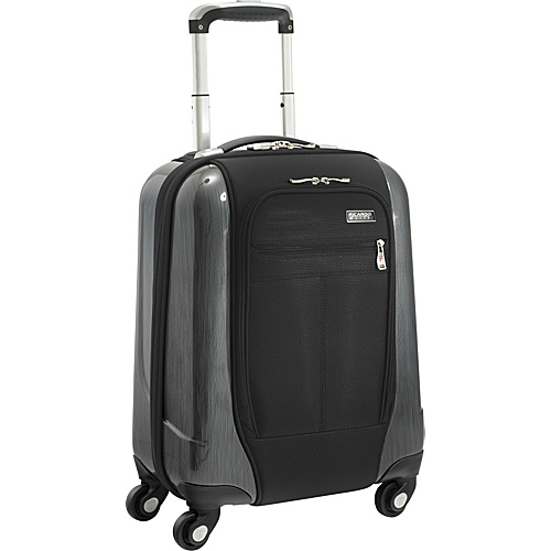 Ricardo Beverly Hills Crystal City Spinner Universal Carry-on Black - Ricardo Beverly Hills Small Rolling Luggage