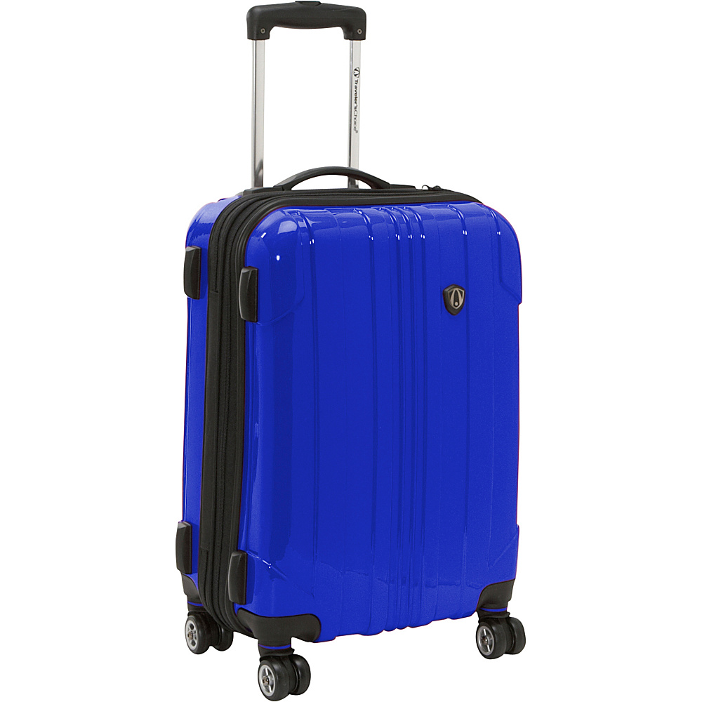 Travelers Choice Sedona 21 in. Hardside Spinner Navy - Travelers Choice Hardside Carry-On - Luggage, Hardside Carry-On