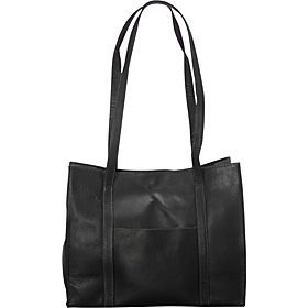 Downtown E/W Tote Black
