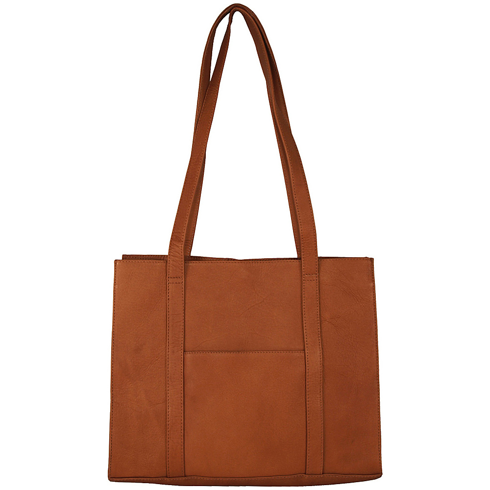 Latico Leathers Downtown E/W Tote Natural - Latico Leathers Leather Handbags - Handbags, Leather Handbags