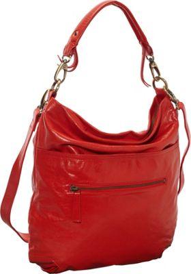 Latico Leathers Francesca Hobo Poppy - Latico Leathers Leather Handbags