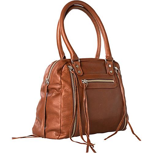Jacki Easlick Jacki Tote Cognac - Jacki Easlick Leather Handbags