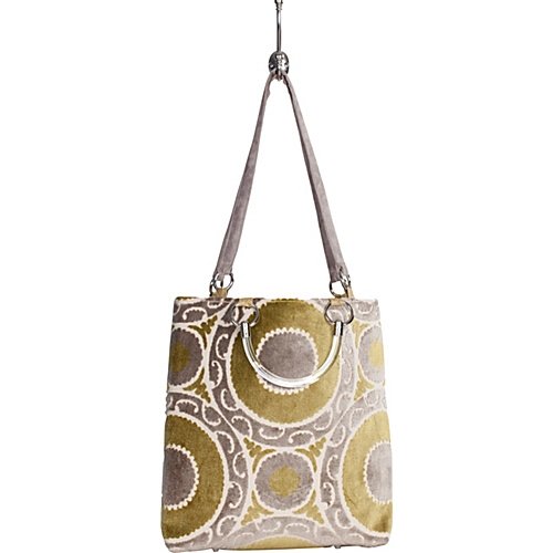 Baxter Designs Large Medallion Tote Seagrass