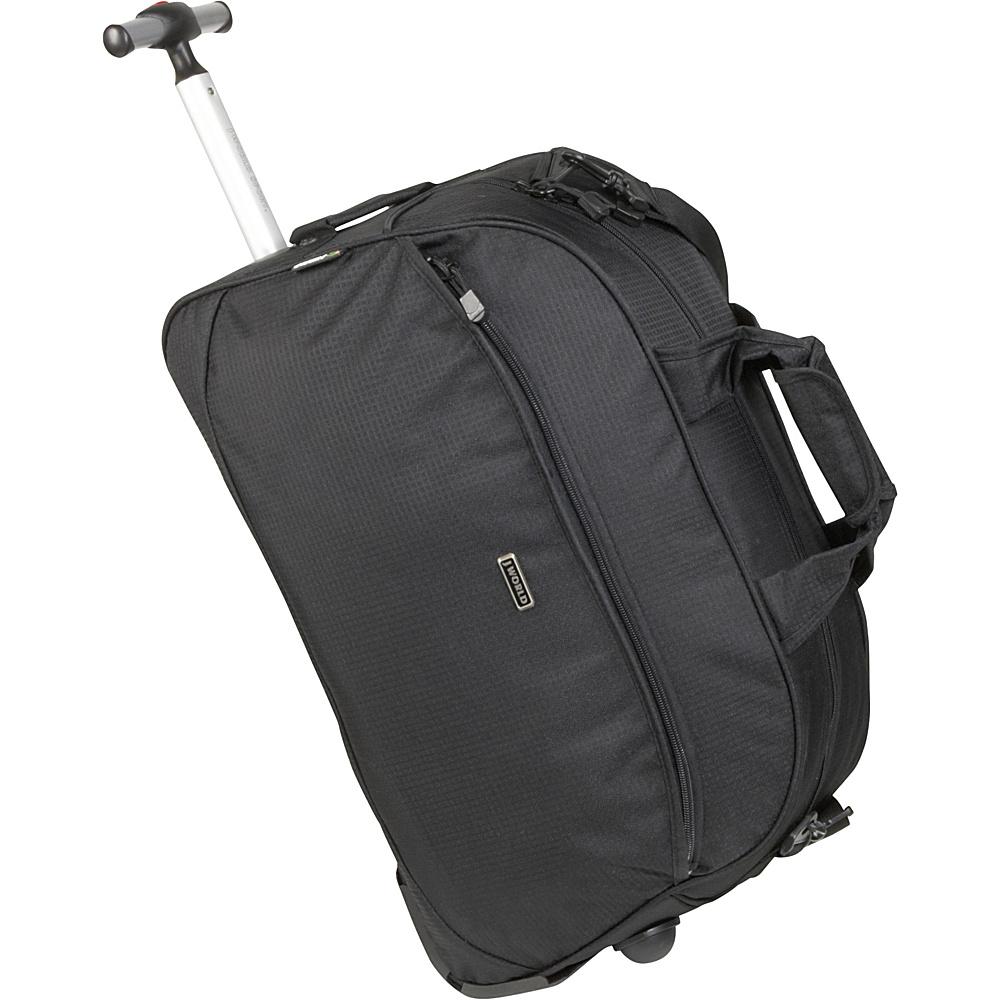 J World Christy 20 Rolling Duffel - Black - Luggage, Softside Carry-On