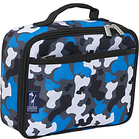 Blue Camo Lunch Box Blue Camo