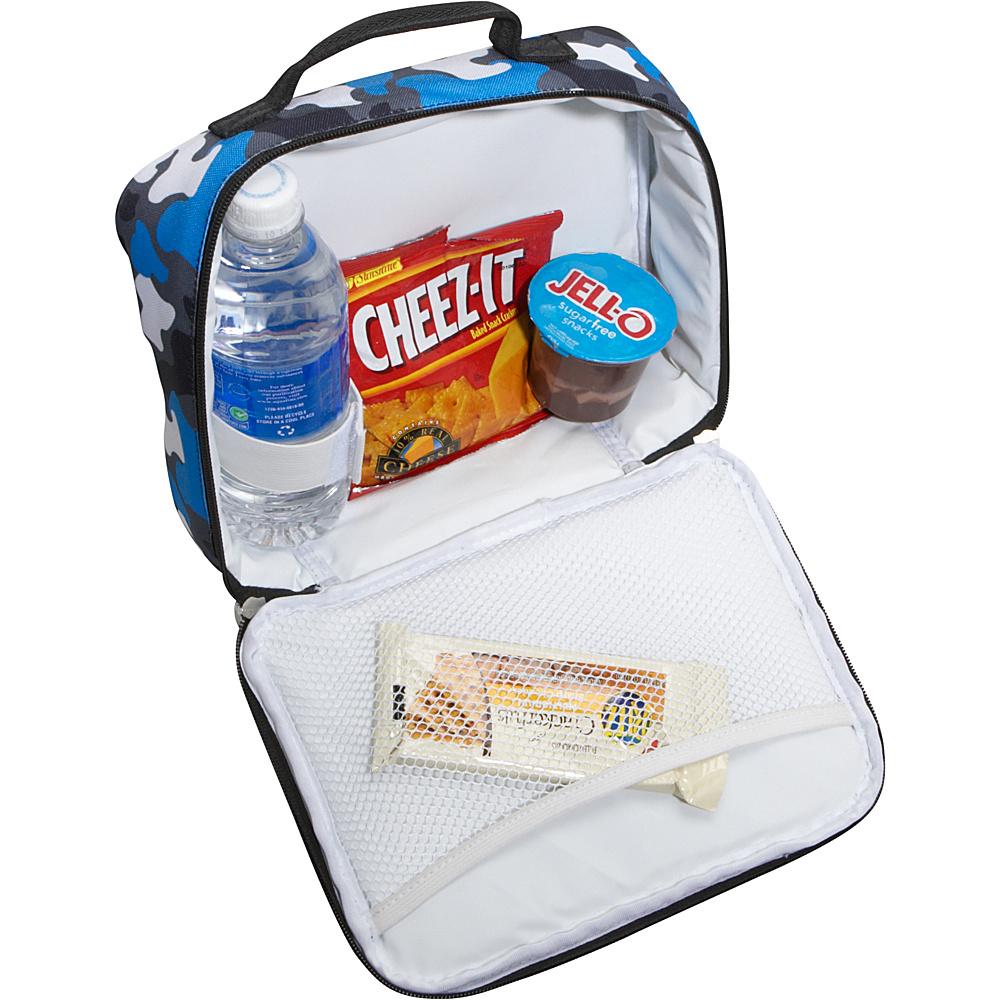 Wildkin Blue Camo Lunch Box - Blue Camo