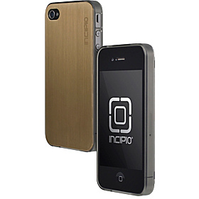 Le Deux for iPhone 4/4S Gold/Translucent Mercury