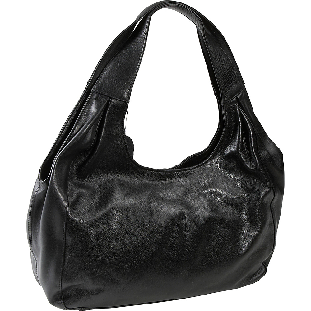 Derek Alexander Soft Bodied Top Zip - Black - Handbags, Leather Handbags