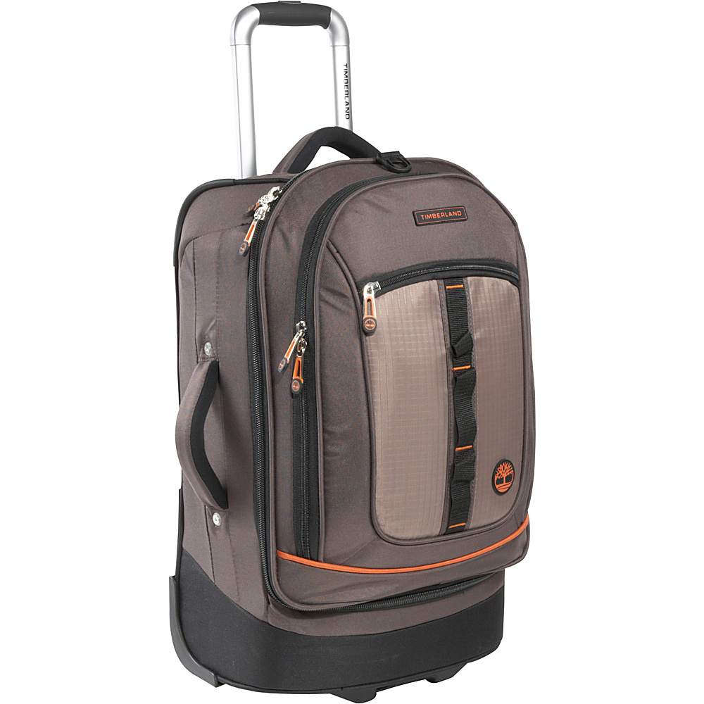 Timberland Jay Peak 21 Rolling Upright Cocoa Timberland Softside Carry On