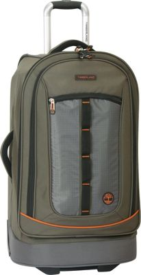 Timberland Jay Peak 21 inch Rolling Upright Burnt Olive - Timberland Softside Carry-On