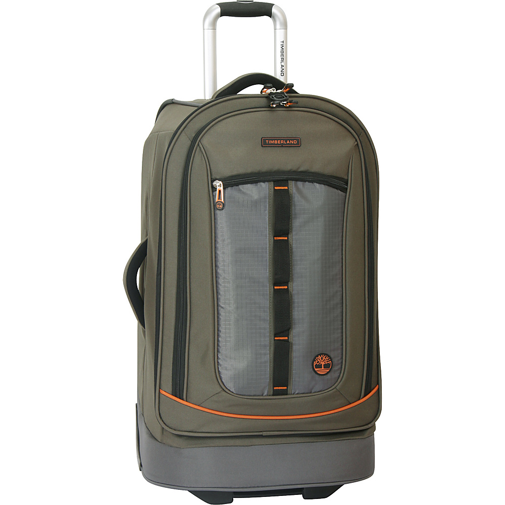 Timberland Jay Peak 21 Rolling Upright Burnt Olive Timberland Softside Carry On