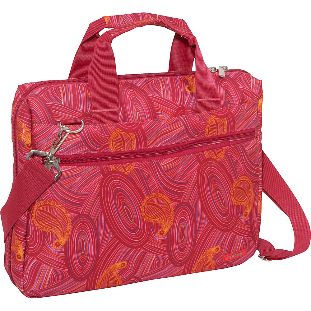 J World Research Laptop Bag - Paisley - Work Bags & Briefcases, Non-Wheeled Business Cases