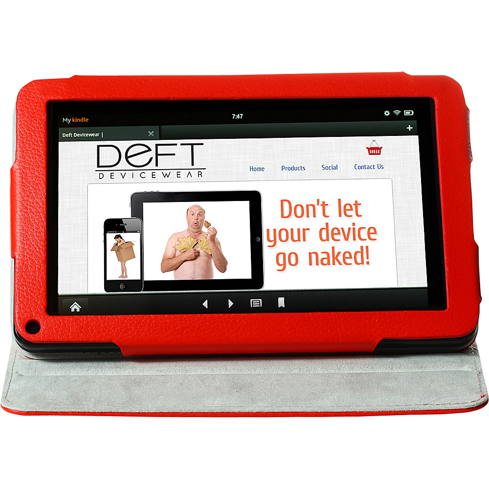 Devicewear Deft Dante 360: Rotating Kindle Fire Case - - Technology, Electronic Cases