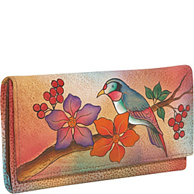 Ladies Clutch Wallet - Bird On Branch Bird on Branch