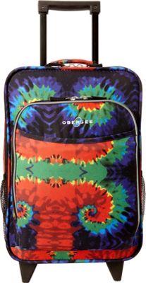 Obersee Kids Tie-Dye 16 inch Upright Tie Dye - Obersee Softside Carry-On