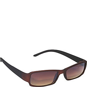 Classic Rectangle Sunglasses  Brown/Black