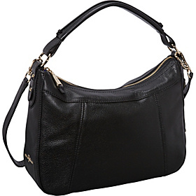 Linley Small Rounded A Line Hobo Black
