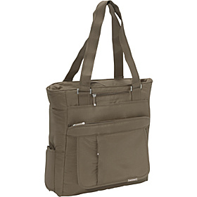 Ace Book Tote Taupe Brown