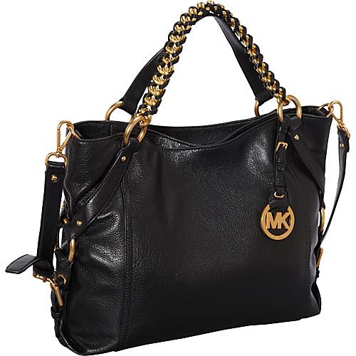 Michael Michael Kors Tristan Large Shoulder Tote Black – Michael Michael  Kors Designer Handbags 7e48f6b7ef780