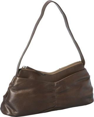 Derek Alexander EW Top Zip GOLD - Derek Alexander Leather Handbags